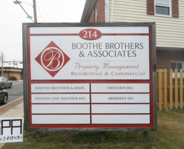 Boothe Brothers & Associates Sign